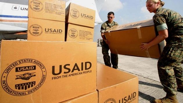Rebeldes sirios salen en foto con tienda de USAID: ¿El 'maná' de EE.UU. para Al Qaeda?