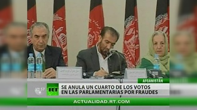 Elecciones en Afganistán: se anularon un cuarto de los votos por fraude