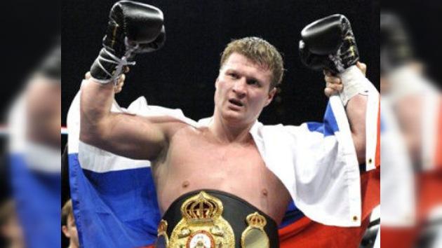 El ruso Povetkin gana la 'Guerra Fría' por nocaut