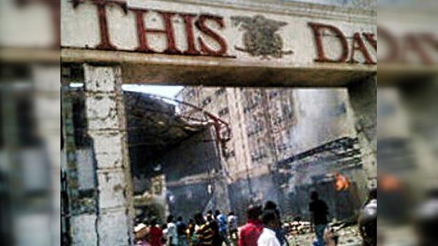 Doble atentado terrorista contra las instalaciones de un diario en Nigeria