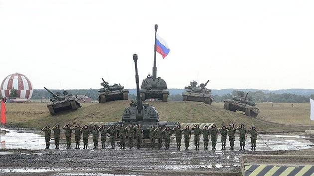 Rusia presenta a sus socios su armamento más moderno en una feria de armas