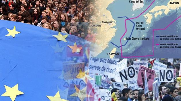 Balance semanal: Alta tensión entre China y Japón, Ucrania da la espalda a la UE y España rechaza las leyes del Gobierno