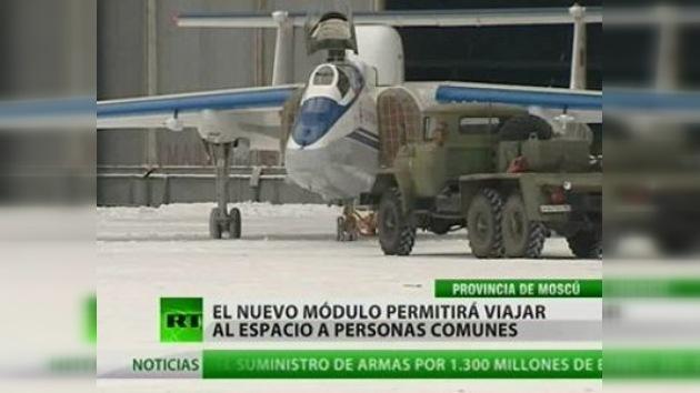 Los turistas podrán viajar al espacio en aviones rusos por 200.000 dólares