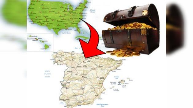 Salió en una fragata y llega en avión: El tesoro de 'Las Mercedes' aterriza en España