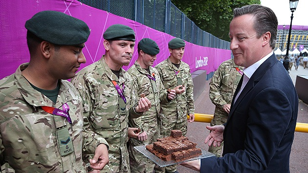 Militares con 'agujetas' tras los JJ.OO.: El Ejército británico se recuperará en dos años