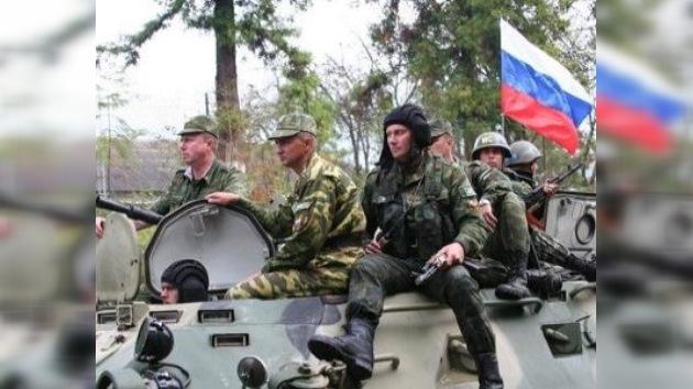 Rusia y Osetia del Sur firman acuerdo sobre la base militar conjunta