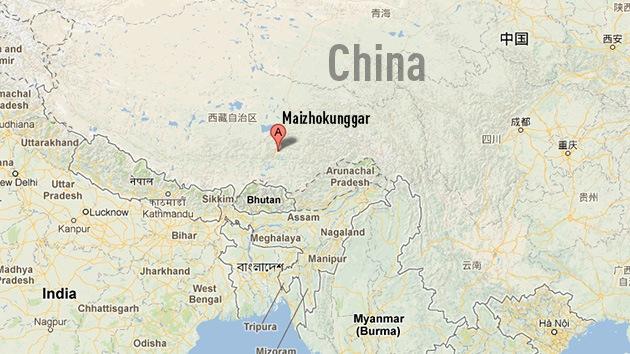 83 personas quedan atrapadas tras un deslizamiento de tierra en una zona minera en el Tíbet