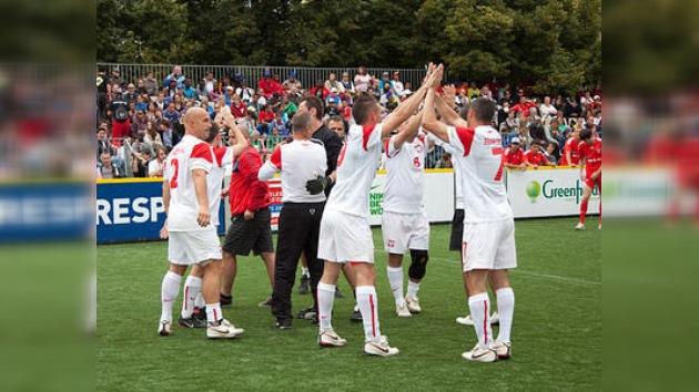 Los rusos ganan la Copa de Honor del Mundial de Fútbol Social para personas sin Hogar