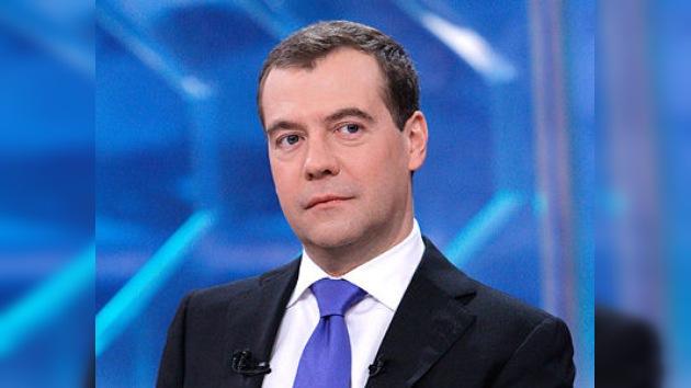 Medvédev: Rusia ha avanzado mucho en la dirección de las libertades civiles