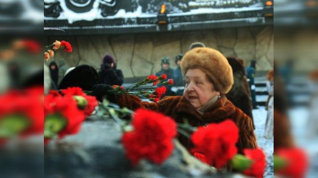 Se celebra en Rusia el día de liberación de Leningrado