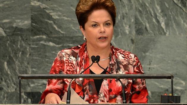 """Rousseff: """"La austeridad sin crecimiento se derrota a sí misma"""""""