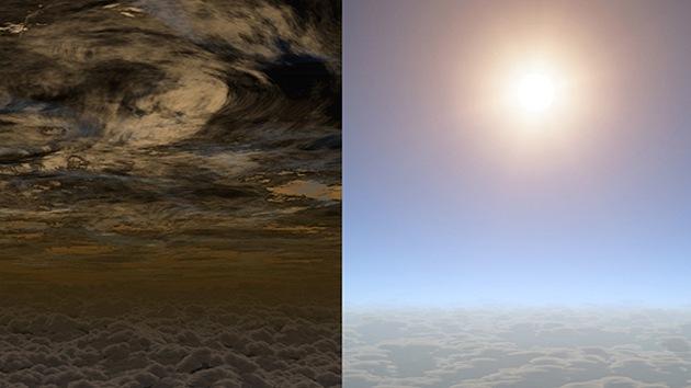 Descubren vapor de agua y cielos despejados en un exoplaneta pequeño