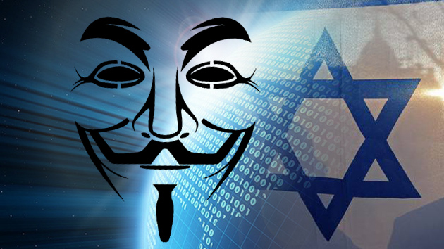 Un ataque de #Anonymous afecta a un centenar de páginas israelíes