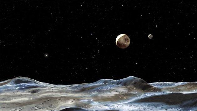 En luna de Plutón podría existir un océano subterráneo