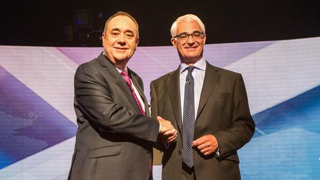 El Reino Unido no retransmite el debate sobre la independencia de Escocia