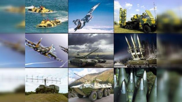 Once fabricantes rusos de armas 'conquistan' plaza en el Top 100 mundial
