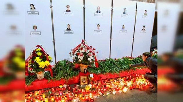 Bielorrusia de luto por víctimas del atentado en el metro de Minsk