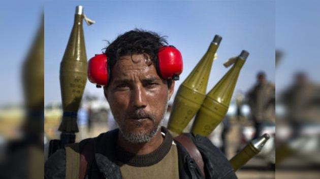 La OTAN pone condiciones a un alto el fuego en Libia