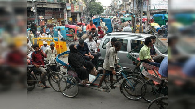 Facebook contra infractores del tráfico en Delhi