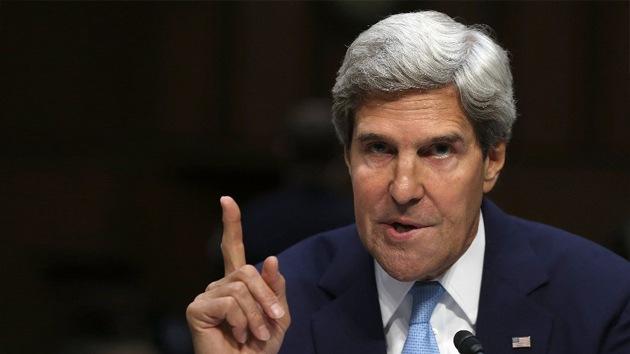 """Kerry: """"Los países árabes han propuesto financiar la intervención en Siria"""""""