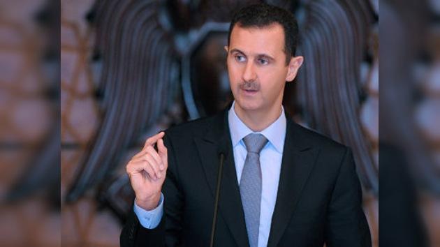 """El presidente de Siria alerta que un ataque occidental contra su país será """"un terremoto"""""""