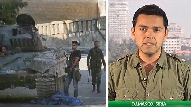 RT, desde la zona del conflicto sirio