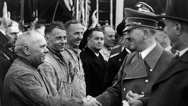 Hitler, criminal 'en serie': ruedan en Alemania un documental sobre la vida del líder nazi