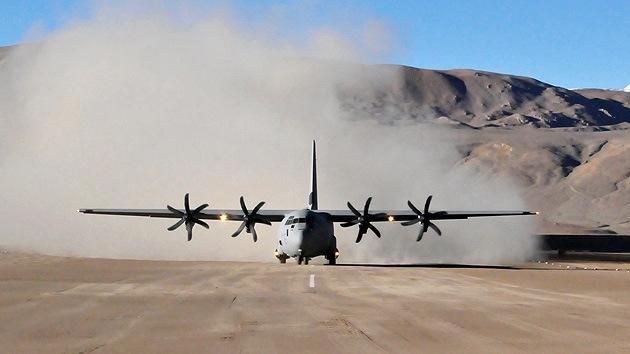 Se estrella un avión militar C-130J que participó en la búsqueda del vuelo MH370