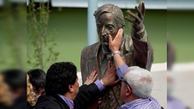Argentina homenajea al ex presidente Néstor Kirchner