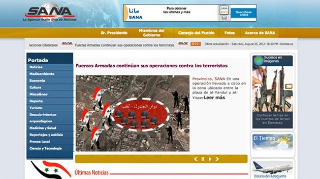 La oposición siria falsifica noticias haciéndose pasar por la agencia estatal