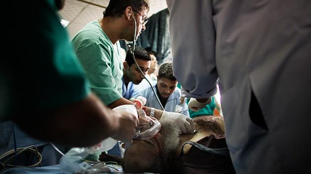 Un hospital de Gaza usa como anestesia una lata que contenía por error gas tóxico