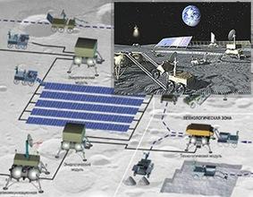 Se construirá una base rusa en la Luna