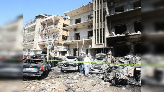 Damasco, en medio de fuertes choques armados y esfuerzos diplomáticos