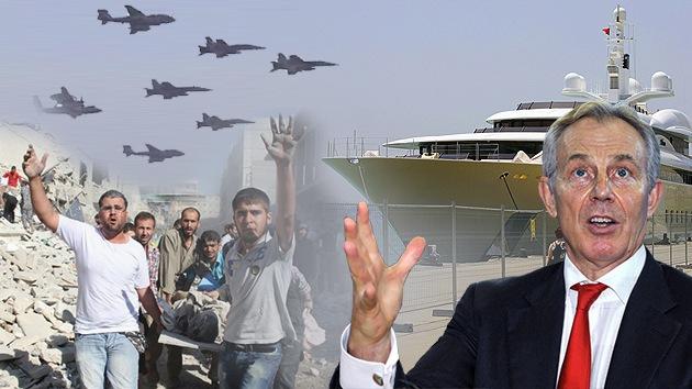 El 'enviado de paz' Tony Blair da su trabajo por hecho y disfruta de una vida de lujo