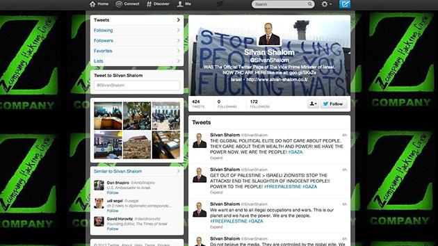 'Hackean' las cuentas de Facebook y Twitter del vice primer ministro de Israel