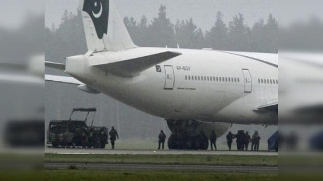 Un avión aterrizó en Suecia por una falsa amenaza de bomba