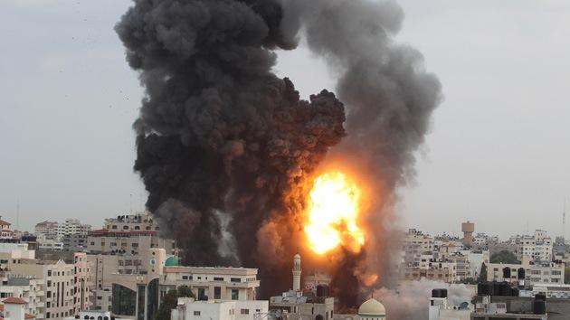 Un ataque aéreo de Israel en la Franja de Gaza deja al menos dos muertos
