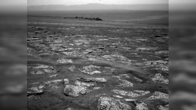 Paisajes de Marte a través de los ojos de un robot