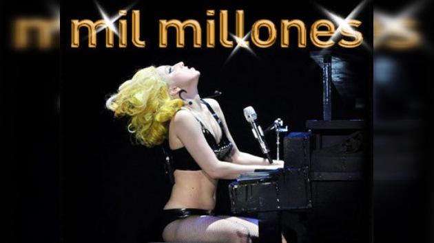 Lady Gaga superó las mil millones de visitas en Youtube