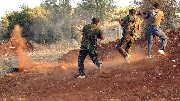 Los rebeldes sirios anuncian una operación combinada de gran envergadura