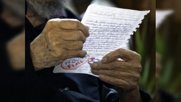 Fidel Castro no permite a los intelectuales dejarse vencer por el pesimismo