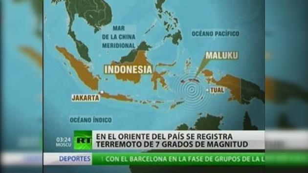 Dos terremotos sacuden Indonesia