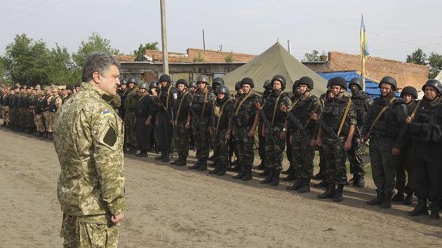 La tregua de Poroshenko no impide a las tropas ucranianas seguir bombardeando