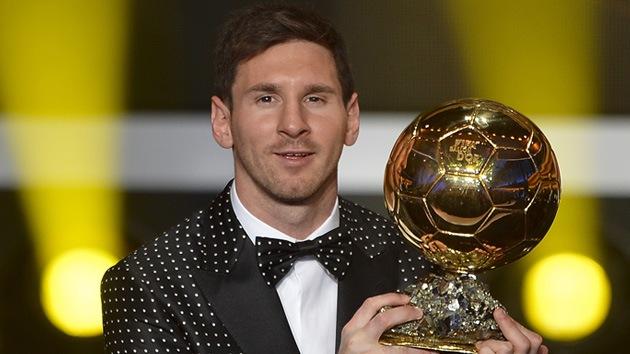 Cuarto Balón de Oro consecutivo para Messi
