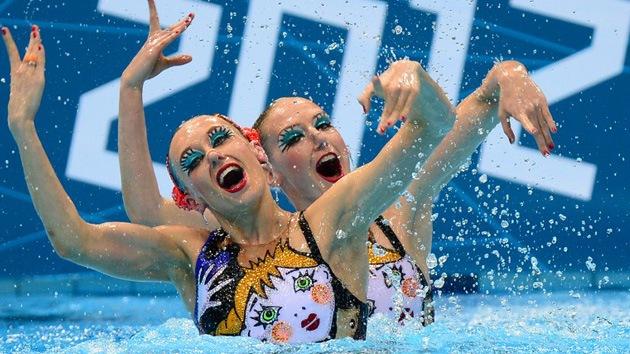 Londres 2012: Rusia se lleva el oro en nado sincronizado por parejas