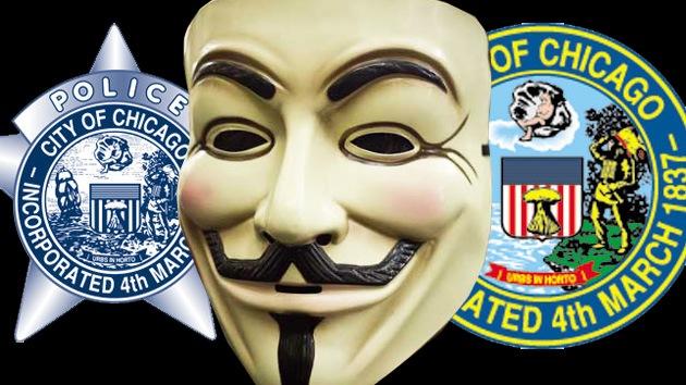 Anonymous deja fuera de servicio a las páginas web del Gobierno de Chicago
