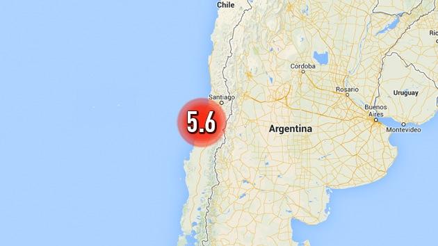 Un sismo de magnitud 5,6 sacude Chile