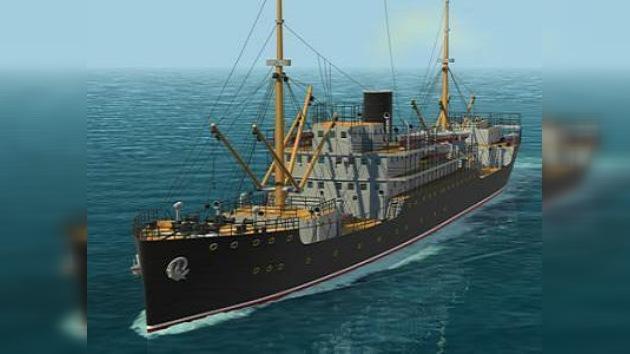 Retroceso al pasado de combate marítimo