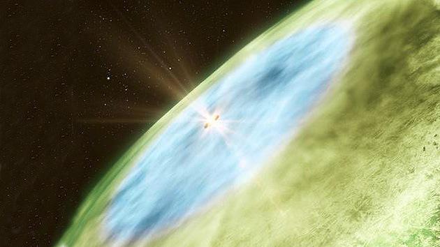 Captan la primera imagen de una línea de nieve en un sistema solar en formación