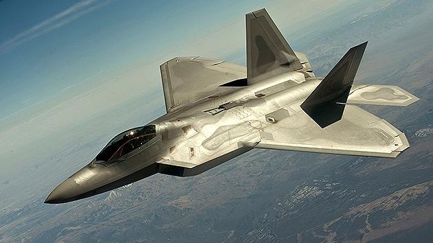EE.UU. estrenó sus cazas F-22 de quinta generación en los ataques en Siria
